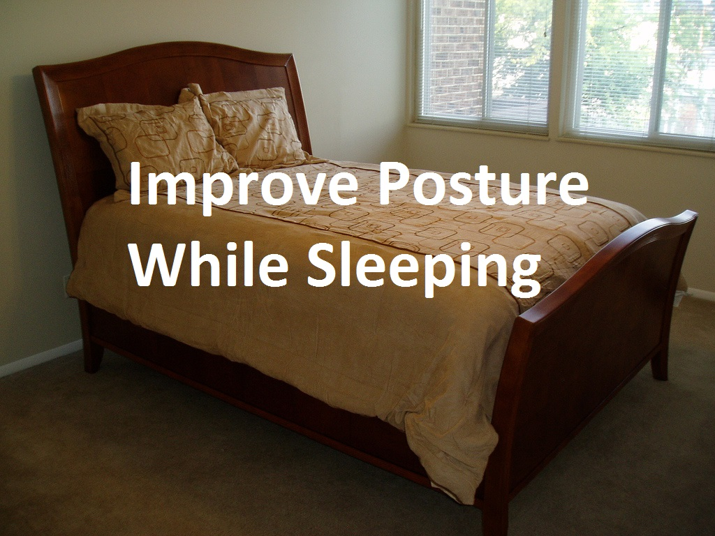 Effortlessly Improve Posture While Sleeping
